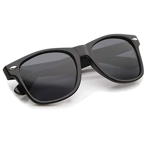 KISS Sonnenbrille mod. BLUES BROTHERS - klassischer und gespiegelter CULT MOVIE Mann Frau NERD VINTAGE - SCHWARZ