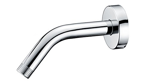 Purelux Universal Shower Arm 6 Inches Made of Stainless Steel in Chrome finish, Water Outlet PJ1002