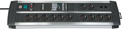 Brennenstuhl 1392000122 Premium-Protect-Line Multipresa con Protezione Contro Le sovratensioni
