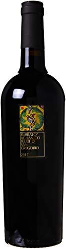 Feudi di San Gregorio Rubrato Irpinia Vino Rosso Aglianico, 2017 (3 Pezzi x 0.75 l)