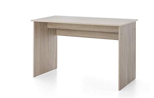 Beauty.Scouts Schreibtisch Tisch Anna Sonoma Eiche Holznachbildung 125x78,5x60cm Bürotisch Arbeitstisch Büroschreibtisch Arbeitsschreibtisch Ablagetisch