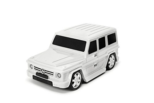 Packenger kinderkoffer - Mercedes G-klasse - origineel Mercedes Benz gelicentieerd product, auto, boordcase, koffer met telescoopstang en trekriem