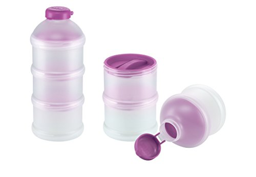 NUK Milchpulver-Portionierer | 3 Stück | BPA-frei | violett