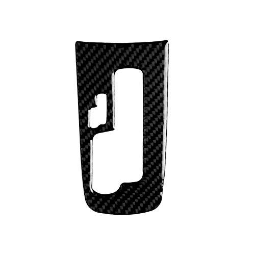 FangFang Ajuste Adecuado para Chevrolet 09-15 Viejo Cruz Fibra DE Carbono Arriba Y ARGANO ARGANO CD ASION Aceite Air Air Outlet ETIQUETADOR (Color Name : Gear Panel)