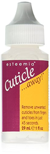 Esteemia Cuticle Away Remover, 1 Fluid Ounce