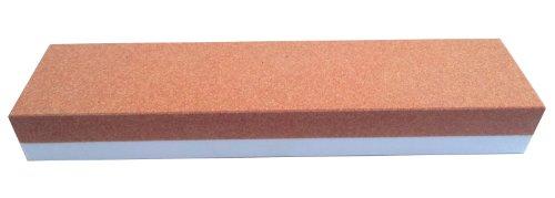 Zische Abziehstein kombiniert, Edelkorund, 200 x 50 x 25 mm, Körnung FEPA 280/120, Korund Schleifstein