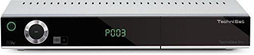 TechniSat TECHNISTAR S1+ HD Sat-Receiver mit PVR-Aufnahmefunktion via USB, HDTV, UPnP-Livestreaming, Ethernet, inkl. HD+ Smartcard, silber
