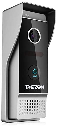 TMEZON Video Türsprechanlage Türklingel Intercom System, 1080P Außenklingel, funktioniert nur mit 1080P Intercom Monitor