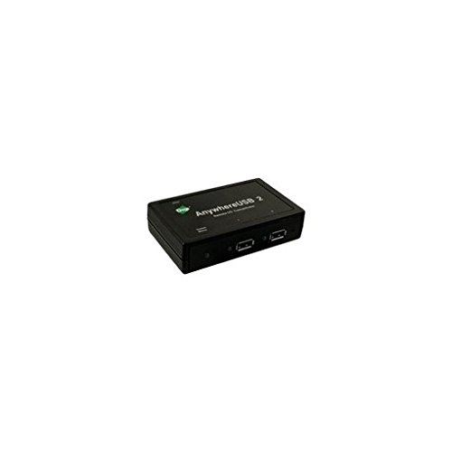 Digi International AnywhereUSB/2 100Mbit/s Schwarz Schnittstellenhub, AW-USB-2-W