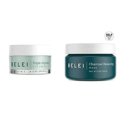 Belei Triple-Peptide, Paraben Free Under Eye Cream for Fine Lines, Puffiness and Dark Circles, 0.5 Fluid Ounce (15 mL)