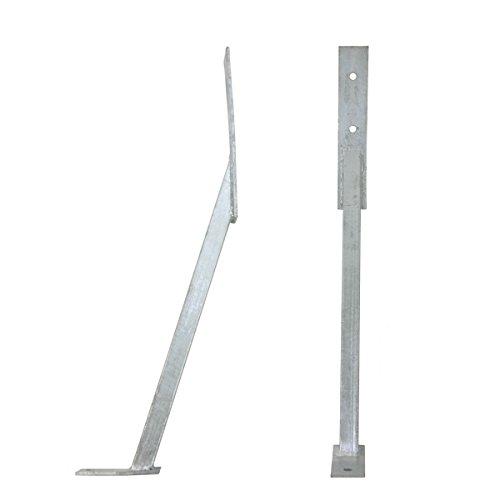 Unbekannt Pfostenstütze Windanker Sturmanker Länge ca. 66 cm