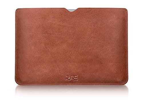 Lederhülle AVIOR für MacBook Air & MacBook Pro 13 Zoll - Schutz Hülle aus Leder I Tasche Cover Hülle Sleeve Apple M1