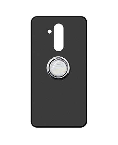 Sunrive Funda para Huawei GX8/G8, Silicona Mate Gel Carcasa Case Bumper Anti-Arañazos Espalda Cover Anillo Kickstand 360 Grados Giratorio(Mármol Blanco) + 1 x Lápiz óptico
