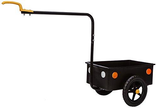 Bellelli 63001 - Remolque de ciclismo, color negro