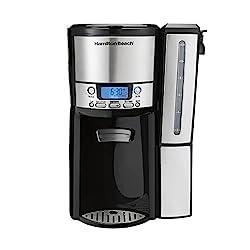cheap Hamilton Beach (47950) 12 cup coffee machine and coffee pot with internal memory, …