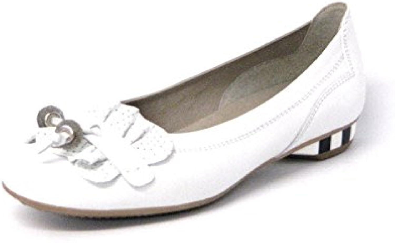 Softwaves kvinnor Ballerinas vit, (weiss) (weiss) (weiss) 6.08.11 VITE  köp bäst