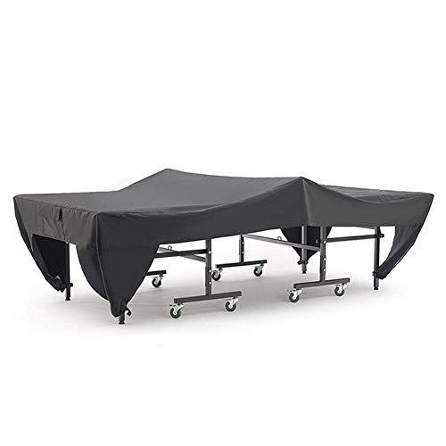 Ljings Cubierta Mesa Ping-Pong para Exteriores, Resistente A La Intemperie, Cubierta Tenis Mesa Vertical Y Desplegada, Resistente A Los Rayos UV, Resistente Al Agua, A Prueba De Viento,210D