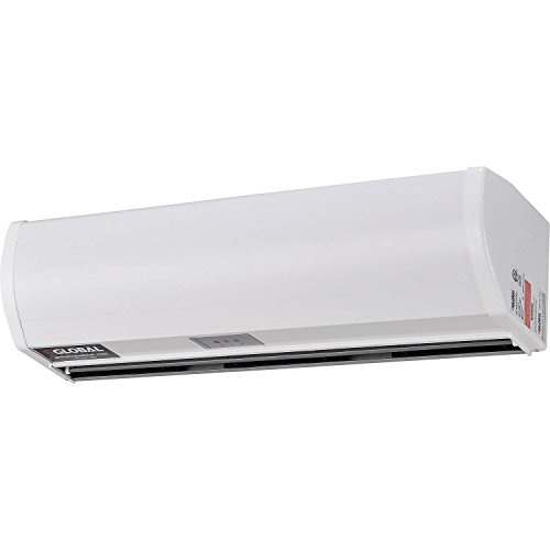 """Global Industrial 36"""" W Air Curtain with Remote Control"""