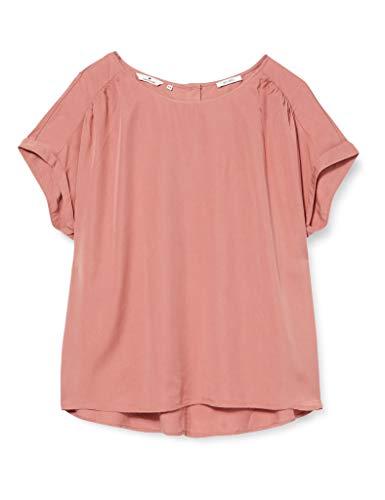 TOM TAILOR Damen Lockere Bluse, Rosa (Vintage Rose 10879), (Herstellergröße: 44)