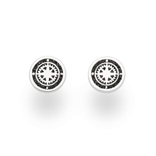 """DUR Damen Ohrring\""""Kompass\"""" aus 925er Silber O5040"""