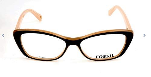 Fossil Brillengestelle FOS 6057 Rund Brillengestelle 53, Mehrfarbig