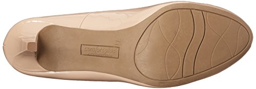 Predictions Comfort Plus Women's Karmen Pump 8.5 Nude Patent