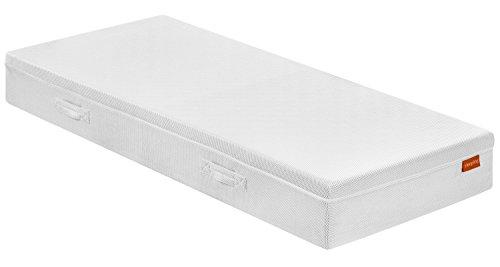 Sleepling 193968-P omkeerbaar matras Bodyprotect 2000 Duo hardheidsgraad 2 & 3 90 x 190 cm, wit