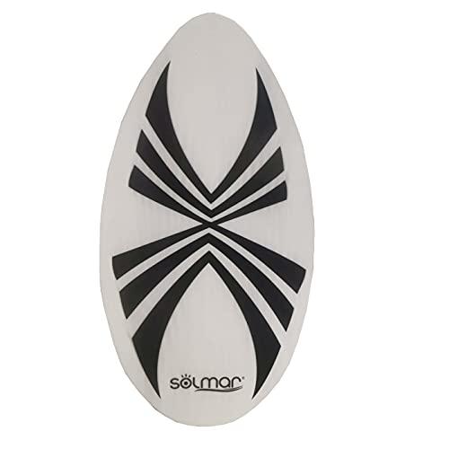 Tabla de Surf Skimboard, de 94 x 54 cm, de Madera, con diseño de Spider,Ideal para Zonas de Agua Poco Profundas, Tabla Surfear, Tabla niños, Tabla Colores