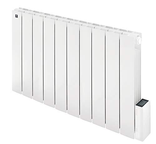 Radiatore Elettrico a olio Griso 1800W Basso Consumo, Installazione a Parete, Riscaldamento fino a 21 mq - Termostato digitale Programmabile Deltadore™ - Bianco