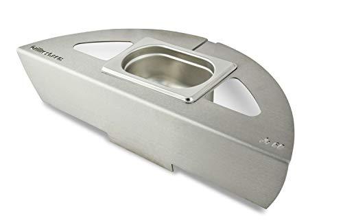 Grillrost.com Das Original Kugelsmoker für Ø 60er Kugelgrills - Mach aus deinem Kugelgrill einen Smoker! Low & Slow BBQ wie vom Profi! (Ø 60cm)