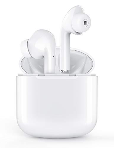 Drahtlose Ohrhörer, XXXAUDIO Bluetooth 5.0 Drahtlose Kopfhörer Bluetooth-Kopfhörer In-Ear Echte kabellose Ohrhörer Mini-Ohrhörer mit Mikrofon IPX5 Wasserdichtes 30-Stunden-Akku-Ladekoffer