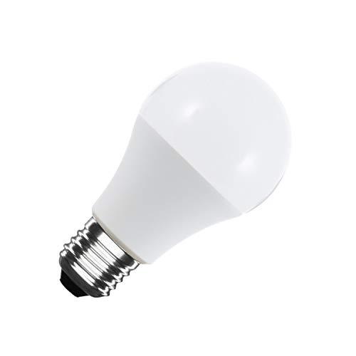 LEDKIA LIGHTING Bombilla LED E27 Casquillo Gordo A60 10W Blanco Cálido 2800K - 3200K