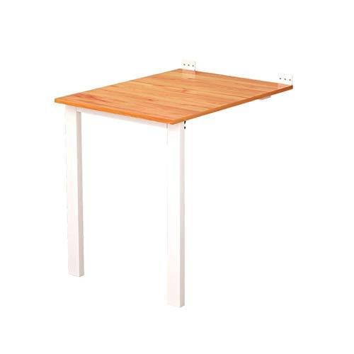 Aan de muur gemonteerde klaptafel, houten neerklapbaar keukenbureau Zwaar uitgevoerde hangende bijzettafel voor thuis Onzichtbare fotolijst (kleur: A, afmeting: 80X40CM)