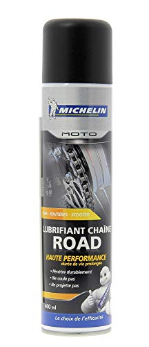 "MICHELIN 008805"" Moto Lubrifiant Chaîne Road, 400 ml"