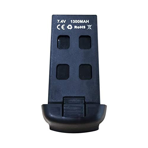 SHUGJAN S167 RC aviones no tripulados 4k HD cámara GPS aviones no tripulados de la batería Piezas de montaje RC (Color : 7.4 1300mah)