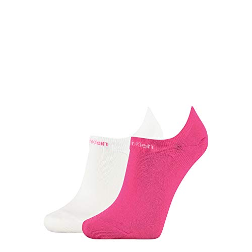 Calvin Klein Women Liner 2p Gripper Leanne Calcetines, Combo Rosa, One Size...