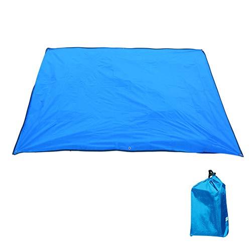 YLIKD Tapis de Camping Tapis de Camping Multifonctionnel pour Tapis de Plage imperméable à l'eau de Couverture extérieure de Tapis de Pique-Nique portatif pour bébé