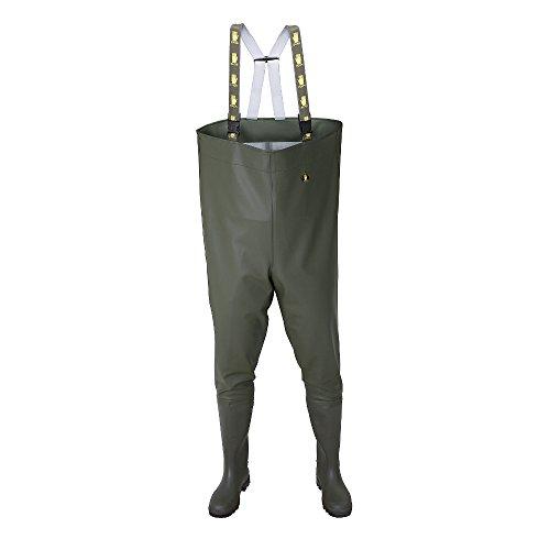SB01 Wathose Anglerhose Watthose Angelhose Teichhose Stiefel PVC Hose Wanderhos