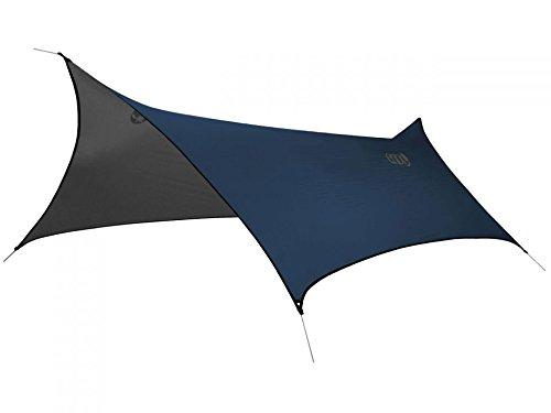 ENO, Eagles Nest Outfitters ProFly XL Rain Tarp, Ultralight Camping Tarp, Navy/Charcoal