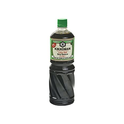 Kikkoman - Soy Sauce with less salt - 1000ml