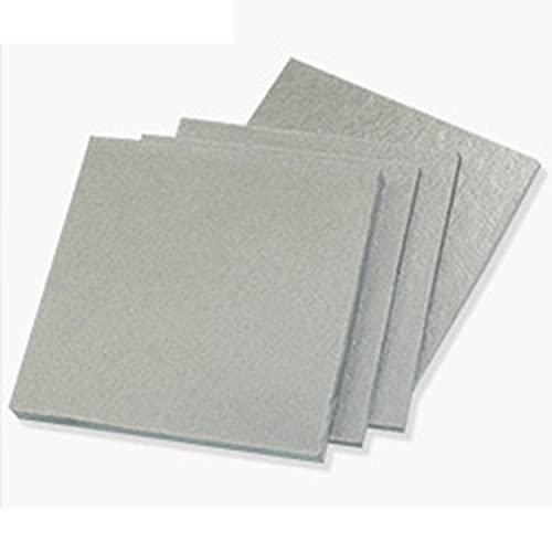 AIMIMI Fiberglas Board verschleißfeste langlebige Glasfaser hohe Temperaturbeständigkeit Dicke 3 mm für industrielle Labormaschinen (1 PCS),100×100x3mm
