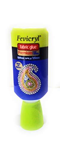 Pidilite Fevicryl No Stitch Fabric Glue Premium Fast Drying (30ml) - Set of 10