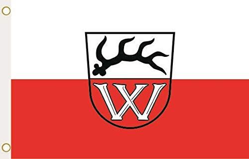 U24 Flagge Fahne Wildberg (Schwarzwald) 90 x 150 cm