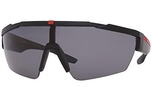 Prada PS 03XS, negro (Goma negra/gris polarizado.), Talla única