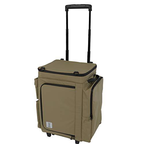 DOD(ディーオーディー) バベコロ2 冷蔵庫型 ソフトクーラー ボックス アルミホイル も入れられる サイドの...