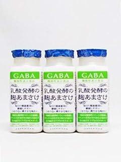 甘酒 ノンアルコール 八海山 乳酸発酵の麹あまさけGABA ギャバ 118g 3本 八海山 要冷蔵