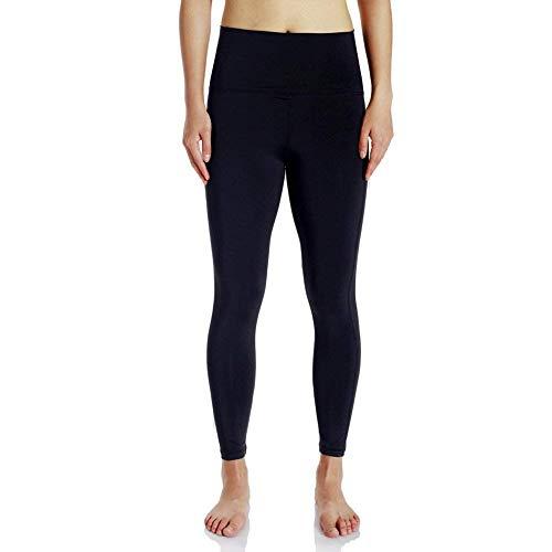 BoBoLily Pantalon De Yoga pour Femmes Fitness Spécial Style Leggings Fitness Taille Haute Lady Men Girl Running Collants (Color : Noir, Size : M)