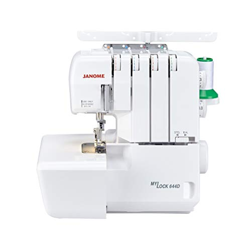 Janome MyLock 644D Overlock Nähmaschine mit Differentialtransport