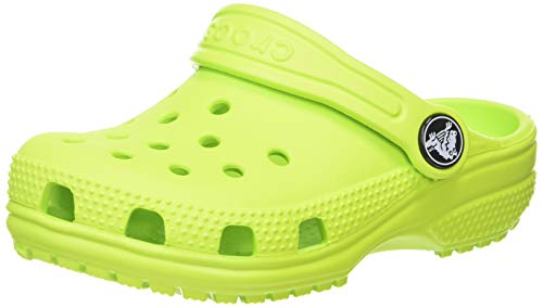 Crocs Unisex Kinder Classic K Clogs, Lime Punch, 32/33 EU