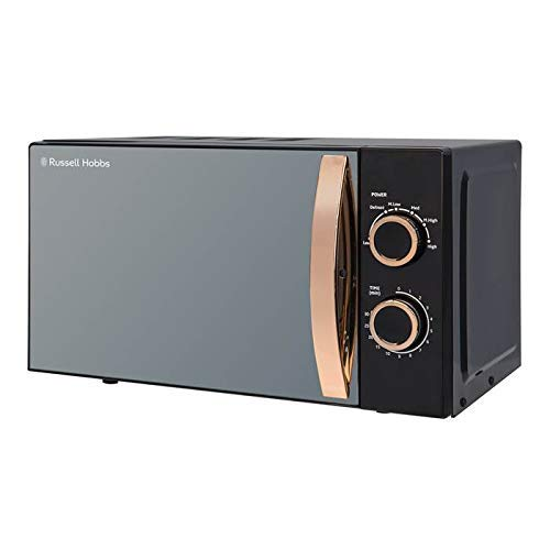 Russell Hobbs RHM1727RG 17 Litre 700 W Rose Gold Solo Microwave with 5 Power Levels, 30 Minute Timer, Defrost Setting, Easy Clean
